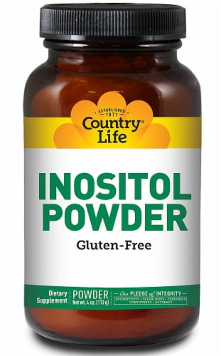 Country Life  Inositol Powder Perspective: front
