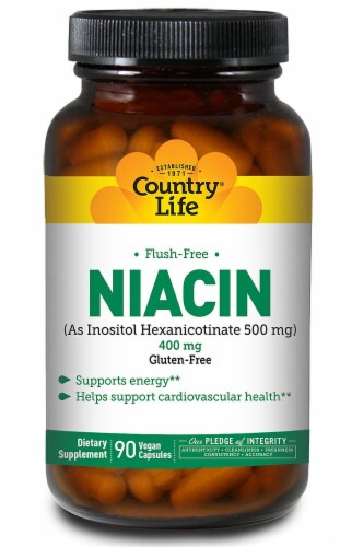 Country Life  Niacin Flush-Free Perspective: front