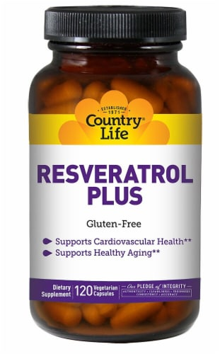 Country Life  Resveratrol Plus Perspective: front