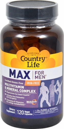 Country Life  Max for Men® Iron Free Perspective: front
