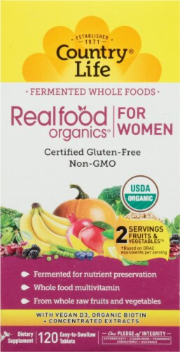 Country Life  Realfood Organics® For Women Perspective: front