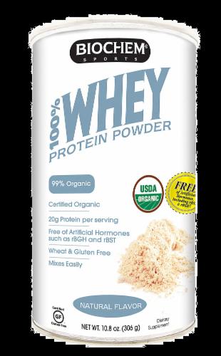 BioChem Natural Flavor Whey Protein Powder Perspective: front