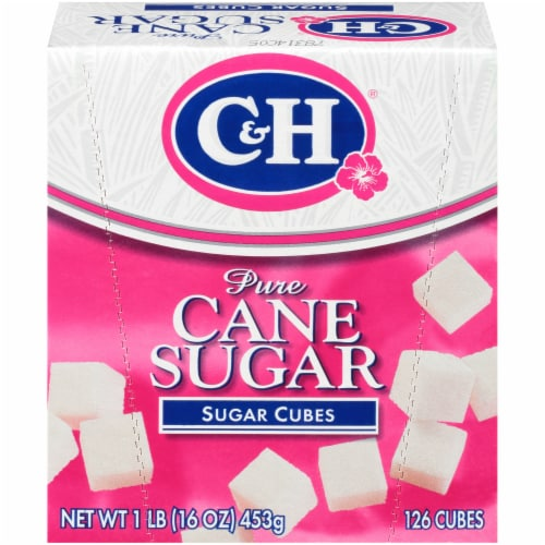 C&H Pure Cane Sugar Cubes Perspective: front