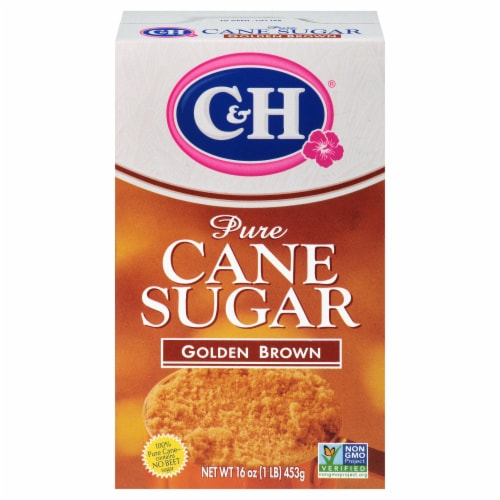 C&H Golden Brown Pure Cane Sugar Perspective: front