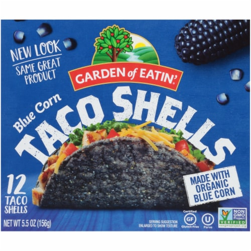 Garden of Eatin' Blue Corn Taco Shells Perspective: front