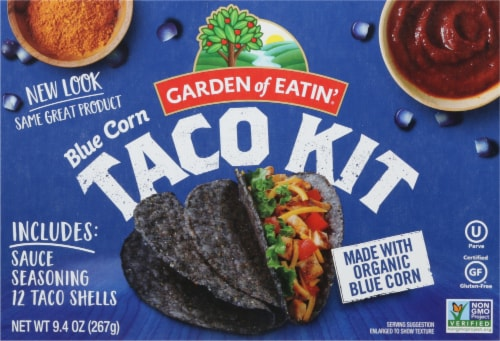Garden of Eatin' Blue Corn Taco Dinner Kit Perspective: front