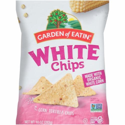 Garden of Eatin' Organic White Corn Tortilla Chips Perspective: front