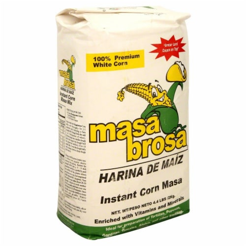 Masa Brosa Instant Corn Masa Perspective: front