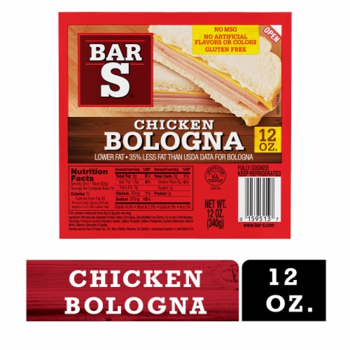 Bar-S Chicken Bologna Perspective: front