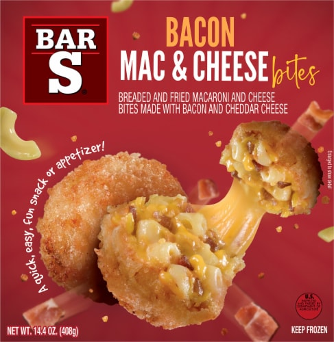 Bar-S Bacon Mac & Cheese Bites Perspective: front