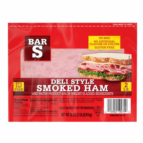 Bar-S Smoked Deli Ham Perspective: front