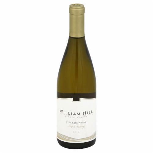 William Hill Estate Napa Valley Chardonnay White Wine 750ml Perspective: front