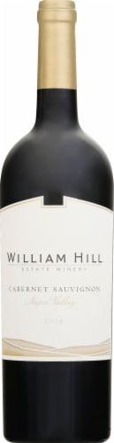 William Hill Estate Napa Cabernet Sauvignon Red Wine Perspective: front