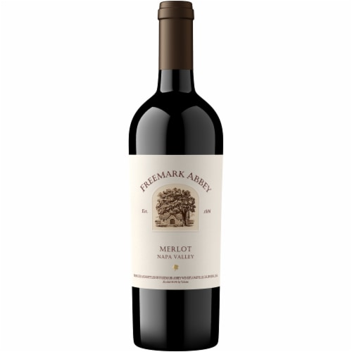 Freemark Abbey Merlot Red Wine Perspective: front
