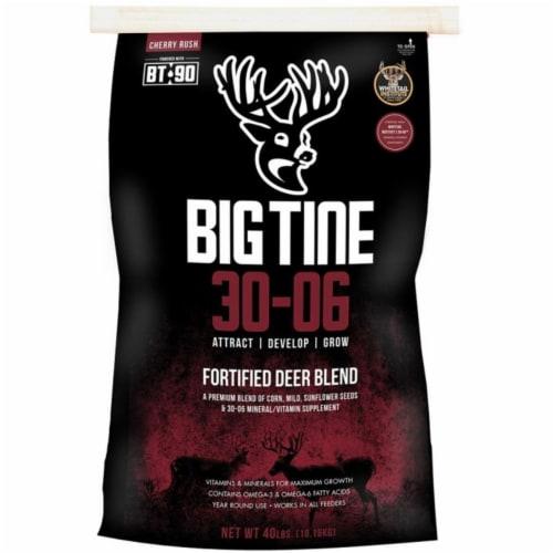 Scott Pet 248784 40 LB  Big Tine Nitro Fortified Deer Blend  Premium Blend Of Corn  Milo  Sun Perspective: front