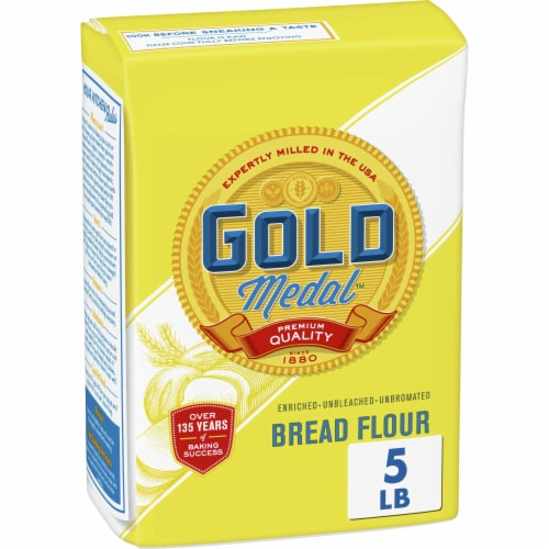 Gold Medal Unbleached Bread Flour Perspective: front