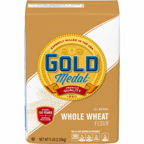 Gold Medal Whole Wheat Flour Perspective: front
