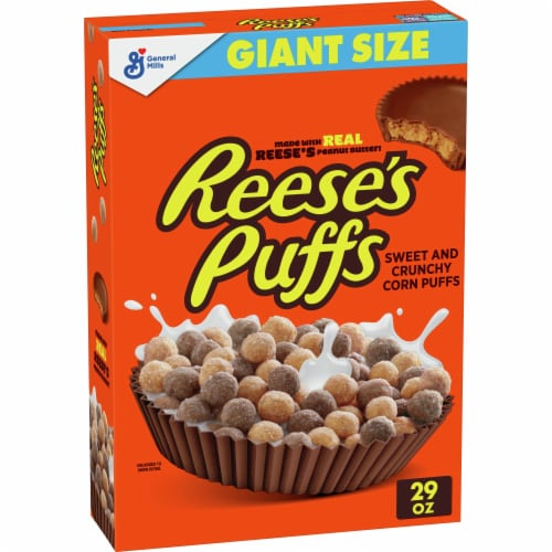 Reese's Puffs Cereal Perspective: front