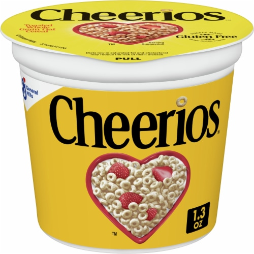 Cheerios Cereal Perspective: front