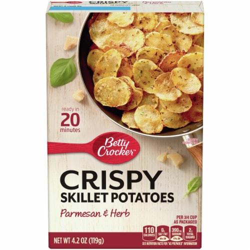 Betty Crocker Parmesan & Herb Crispy Skillet Potatoes Perspective: front