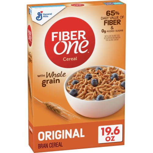 Fiber One Original Bran Cereal Perspective: front