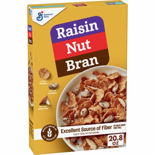 Raisin Nut Bran Cereal Perspective: front