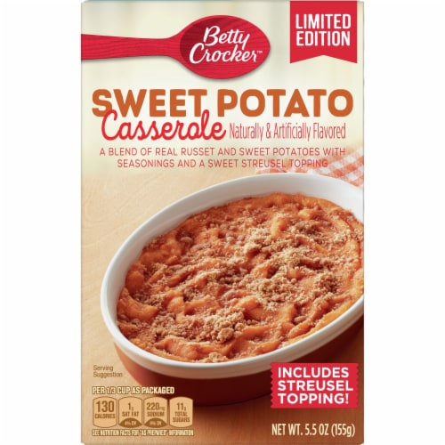 Betty Crocker Sweet Potato Casserole Perspective: front
