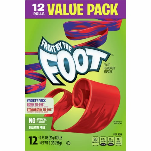 Fruit by the Foot Fruit-Flavored Snacks Variety Pack Perspective: front