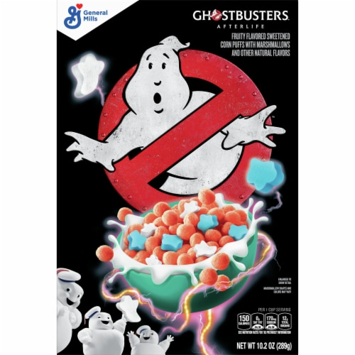 General Mills Ghostbusters Cereal Perspective: front