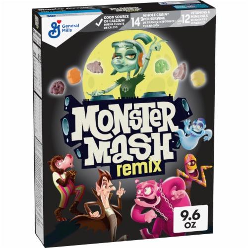General Mills Monster Mash Cereal Perspective: front
