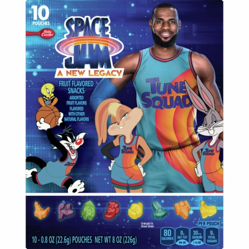 Betty Crocker™ Space Jam A New Legacy Fruit Flavored Snacks Perspective: front