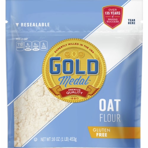 Gold Medal™ Gluten Free Oat Flour Perspective: front