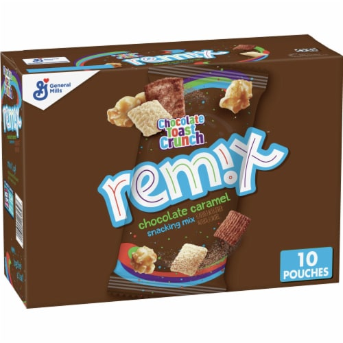Cinnamon Toast Crunch Remix Chocolate Toast Crunch Snacking Mix Perspective: front