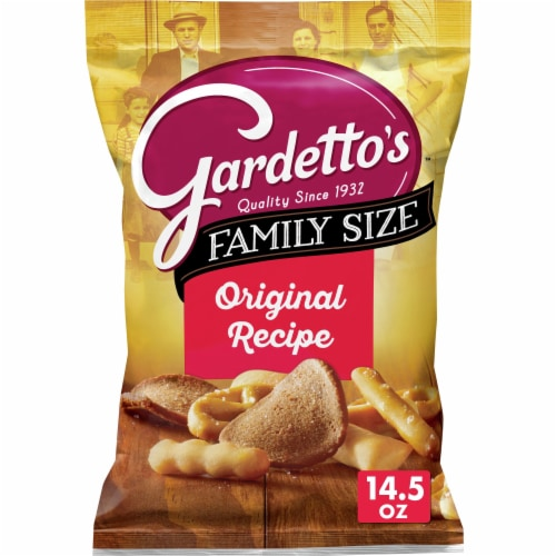 Gardetto's Original Recipe Snack Mix Family Size Perspective: front