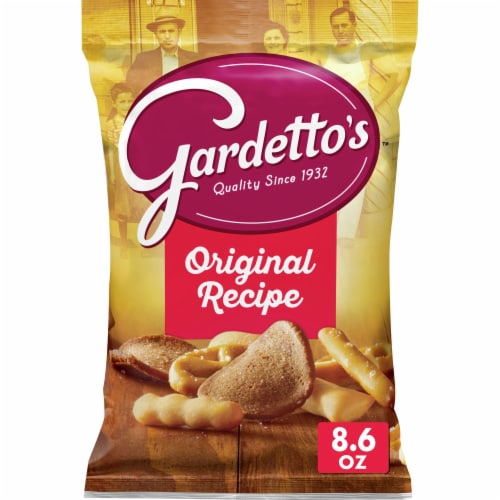 Gardetto's Original Recipe Snack Mix Perspective: front