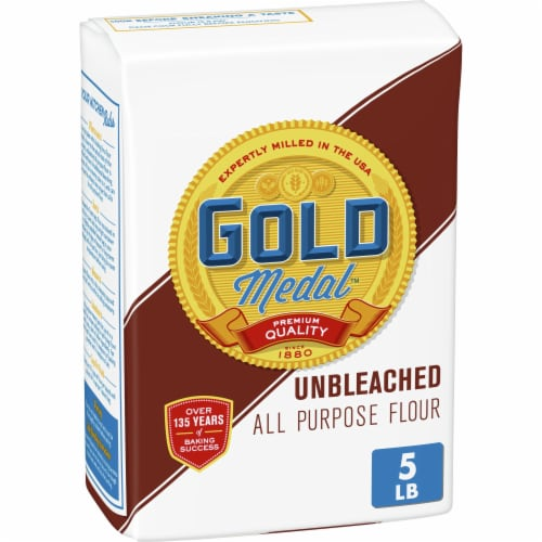 Gold Medal Unbleached All Purpose Flour Perspective: front