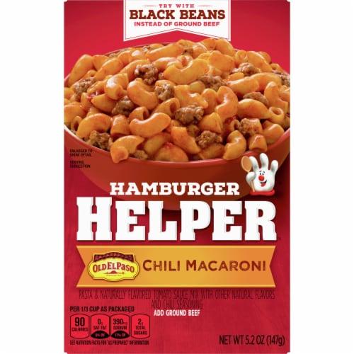 Hamburger Helper Chili Macaroni Perspective: front