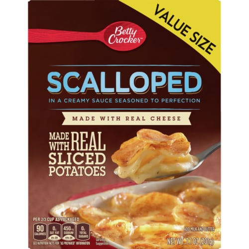Betty Crocker Scalloped Potatoes Value Size Perspective: front