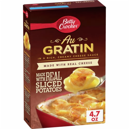 Betty Crocker Au Gratin Potatoes Perspective: front