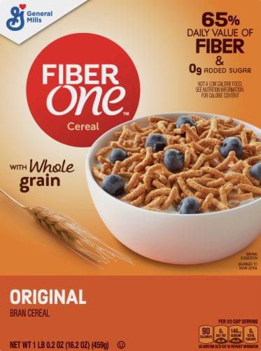 Fiber One Original Bran Cereal Perspective: front