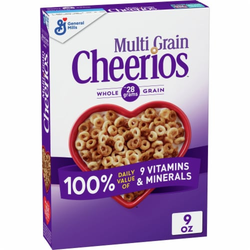 Cheerios Multi-Grain Lightly Sweetened Cereal Perspective: front