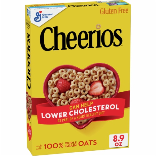 Cheerios Whole Grain Oats Cereal Perspective: front