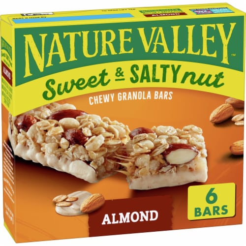 Nature Valley Sweet & Salty Nut Almond Chewy Granola Bars Perspective: front