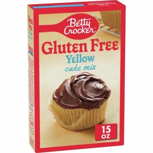 Betty Crocker Gluten Free Yellow Cake Mix Perspective: front