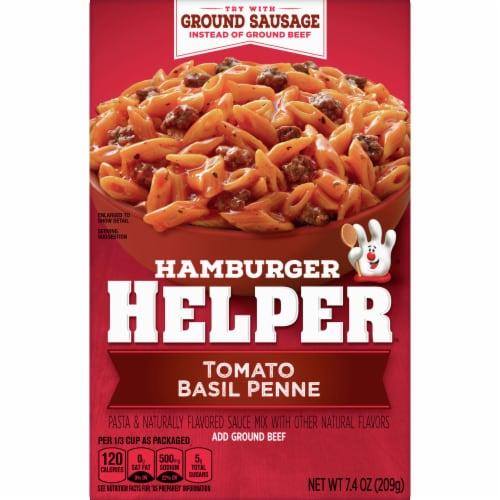 Hamburger Helper Tomato Basil Penne Pasta & Sauce Mix Perspective: front