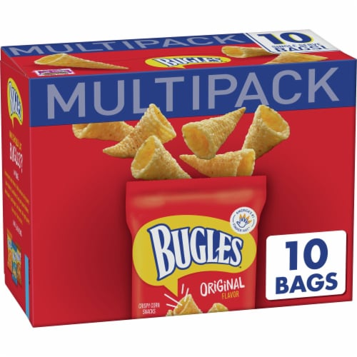 Bugles Crispy Corn Snacks Multipack Perspective: front