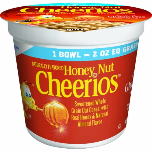 Cheerios Honey Nut Cereal Perspective: front