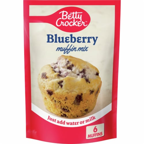 Betty Crocker Blueberry Muffin Mix Perspective: front