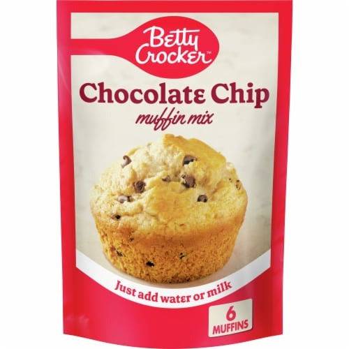 Betty Crocker Chocolate Chip Muffin Mix Perspective: front