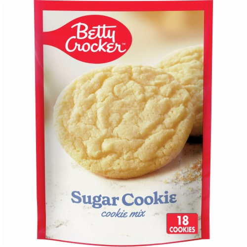 Betty Crocker Sugar Cookie Mix Perspective: front